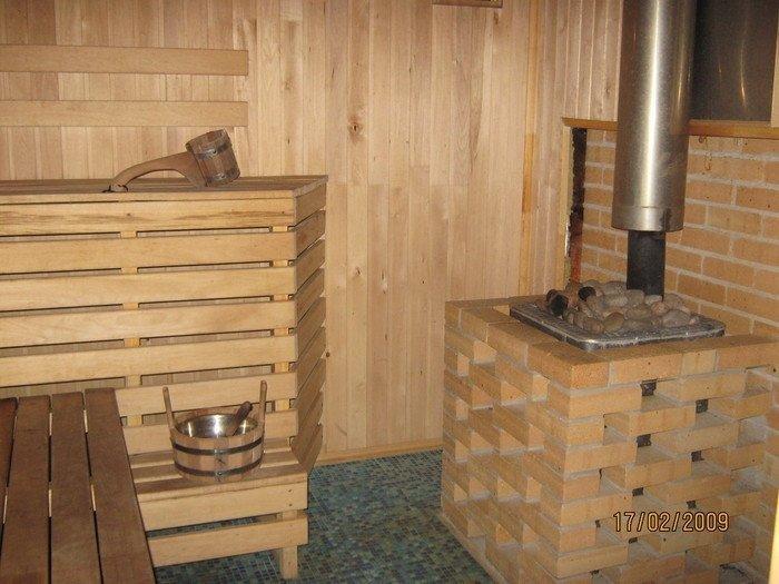 Печи русской бани на дровах своими руками