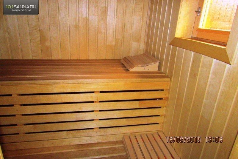 Русская семейная пара в бане с другом фото 734-122